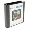 UNV30721 Comfort Grip Deluxe Plus D-Ring View Binder, 1-1/2