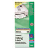 AVE2180 File Folder Labels on Mini-Sheets, 2/3 x 3-7/16, Assorted, 300/Pack AVE 2180