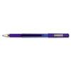 ZEB42520 Z-Grip Gel Stick Pen, Blue Ink, Medium, Dozen ZEB 42520
