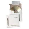QUAE7266 Foam-Lined Multimedia Mailer, Contemporary, 5 x 5, White, 25/Box QUA E7266