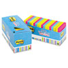MMM65418BRCP Notes Cabinet Pack, 3 x 3, Ast. Bright Colors, 100 Sheets/Pad, 18/Pack MMM 65418BRCP