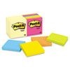 MMM65414YWM Note Pad Assortment, 3 x 3, 7 Canary Yellow & 7 Assorted Bright 100-Sheet Pads MMM 65414YWM