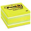 MMM2056RC Cube, 3 x 3, Ribbon Candy, 470 Sheets MMM 2056RC