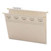 SMD64092 Tuff Hanging Folder with Easy Slide Tab, Letter, Steel Gray, 18/Pack SMD 64092