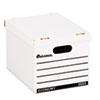 UNV25223 Economy Boxes, 12 x 15 x 9 7/8, White, 10/Carton UNV 25223