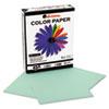 UNV11203 Colored Paper, 20lb, 8-1/2 x 11, Green, 500 Sheets/Ream UNV 11203