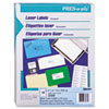 AVE30609 Pres-A-Ply Laser Address Labels, 2 x 4, White, 2500/Box AVE 30609