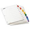 CRD61818 OneStep Plus Index System, 8-Tab, Multi-Color CRD 61818