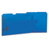 UNV13525 Manila Folders, 2 Fasteners, 1/3 Tab, Legal, Blue, 50/BX UNV 13525