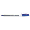 PAP1783152 InkJoy 100 Stick Pen, 1.0 mm, Blue Ink, Dozen PAP 1783152