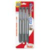 PENZE21BP3K6 Clic Eraser Pencil-Style Grip Eraser, Assorted, 3/Pack PEN ZE21BP3K6
