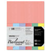 WAU45124 Astrobrights Glisten Pearlescent Colored Paper, 65lb, 8-1/2 x 11, 48 Sheets/Pack WAU 45124