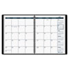 AAG7012705 Recycled Monthly Academic Planner, Black, 6 7/8