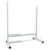PLS423084 Floor Stand for M-18 Series and N-204 Electronic Copyboards, Rolling Casters PLS 423084