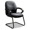 GLB4565BKPB04 Enterprise Series Side Arm Chair, Polypropylene Fabric, Gray GLB 4565BKPB04