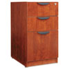 ALEVA532822MC Valencia 2 Box/1 File Full Pedestal, 15-5/8w x 20-1/2d x 28-1/2h, Medium Cherry ALE VA532822MC