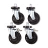 Alera Optional Casters For Wire Shelving