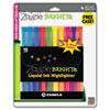 Zebra Zazzle Brights Highlighters