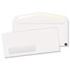 QUA21316 Window Envelope, Contemporary, #10, White, Recycled, 500/Box QUA 21316