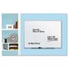 QRT75112 Dry Erase Board, Melamine Surface, 24 x 18, Aluminum Frame QRT 75112