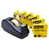 MMM6656PKC40 665 Double-Sided Tape  with C40 Dispenser, 1/2