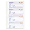 TOP46806 Money and Rent Receipt Books, 2-3/4 x 7 1/8, Two-Part Carbonless, 200 Sets/Book TOP 46806