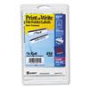 AVE05211 Print or Write File Folder Labels, 11/16 x 3-7/16, White/Black Bar, 252/Pack AVE 05211