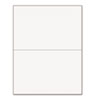 PRB04116 Office Paper, Perforated 5-1/2