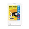 AVE05410 Print or Write Removable Multi-Use Labels, 1in dia, White, 600/Pack AVE 05410