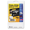 AVE05428 Print or Write Removable Multi-Use Labels, 3/4 x 1, White, 1000/Pack AVE 05428