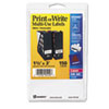 AVE05440 Print or Write Removable Multi-Use Labels, 1-1/2 x 3, White, 150/Pack AVE 05440