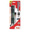 PENQE415LEBP2 Twist-Erase EXPRESS Mechanical Pencil, 0.5 mm, 2 per Set PEN QE415LEBP2