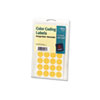 AVE05471 Print or Write Removable Color-Coding Labels, 3/4in dia, Neon Orange, 1008/Pack AVE 05471