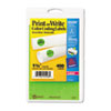 AVE05498 Print or Write Removable Color-Coding Labels, 1-1/4in dia, Neon Green, 400/Pack AVE 05498