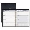 HOD27602 Weekly Business Planner, 7 x 10, Black, 2013 HOD 27602