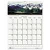 HOD378 Scenic Beauty Monthly Wall Calendar, 12 x 16-1/2, 2013 HOD 378