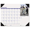 HOD1726 Beautiful Wildlife Photographic Monthly Desk Pad Calendar, 18-1/2 x 13, 2013 HOD 1726