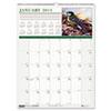 HOD3712 Wild Birds Monthly Wall Calendar, 12 x 16-1/2, 2013 HOD 3712