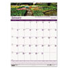 HOD303 Gardens of the World Monthly Wall Calendar, 15-1/2 x 22, 2013 HOD 303