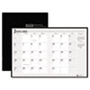 House of Doolittle Ruled 14-Month Planner with Stitched Leatherette Cover