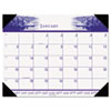 HOD140HD One-Color Photo Monthly Desk Pad Calendar, 22 x 17, 2013 HOD 140HD