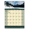 HOD362 Landscapes Monthly Wall Calendar, 12 x 16-1/2, 2013 HOD 362