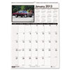 HOD3772 Classic Cars Monthly Wall Calendar, 12 x 16-1/2, 2013 HOD 3772