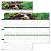 House of Doolittle Earthscapes Waterfalls of the World Reversible/Erasable Yearly Wall Calendar