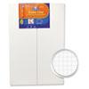 EPI905100 Guide-Line Paper-Laminated Polystyrene Foam Display Board, 30 x 20, White, 2/PK EPI 905100