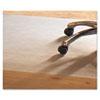 MPVV4660RHF PVC Chair Mat for Hard Floors, 46 x 60, No Lip, Clear MPV V4660RHF