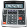 IVR15971 15971 Large Digit Commercial Calculator, 12-Digit LCD, Dual Power, Silver IVR 15971