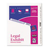 AVE11374 Avery-Style Legal Side Tab Divider, Title: A-Z, Letter, White, 1 Set AVE 11374