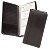 SAM81240 Regal Leather Business Card Binder Holds 96 2 x 3 1/2 Cards, Black SAM 81240