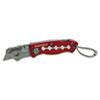 GNS58116 Sheffield Mini Lockback Knife, 1 Utility Blade, Red GNS 58116